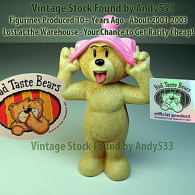 Bad Taste Bears MIB 51 Johnny 2003 Vintage Out of Production Retired