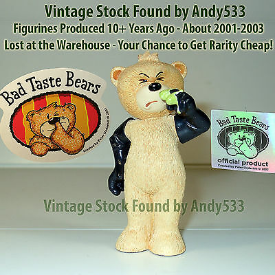 Bad Taste Bears MIB 52 James 2003 Vintage Out of Production Retired