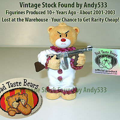 Bad Taste Bears MIB Coco Brown Box 2003 Vintage Out of Production Retired