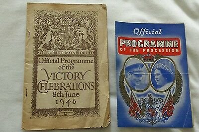 Official Programme of the Victory Celebrations 8th June 1946 and the Procession.