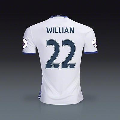 FC Chelsea Third Jersey WILLIAN 22 Soccer in XL size