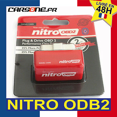 NITRO OBD2 - véhicules DIESEL PROGRAMMATION ECO-PERF CONNECTOR CARS Chip tunnig