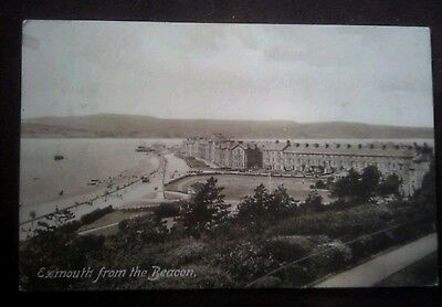 Vintage/Old Postcard++++++ Exmouth from the Beacon