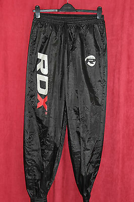 Authentic RDX Fight ME Non Rip Sauna Sweat Track Bottom Weight loss Size L