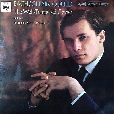 * CBS SBRG 72211 BACH The Well-Tempered Clavier Book 1 Preludes and Fugues GOULD