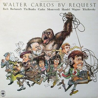 * CBS 73163 TRANS-ELECTRONIC MUSIC PRODUCTIONS Walter Carlos by request SYNTH