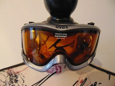 UVEX Double Lens Anti Fog Goggles Good Condition