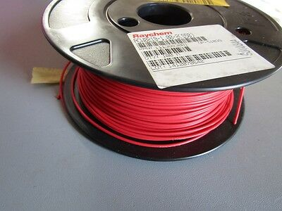 Raychem 100m Automotive Wire 1 mm² CSA Red Engine Harness Cable, 50V  3694822