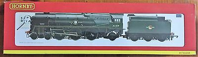 """Hornby Oo Gauge R2528 Merchant Navy Class 4-6-2 35019 """"french Line"""" In Br Green"""