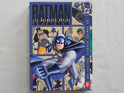 Batman The Animated Series The Complete Serie Vol 2 - 4 Disc DVD Box Set