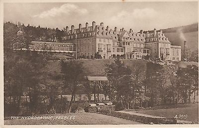 Vintage postcard of 'The Hydropathic, Peebles'