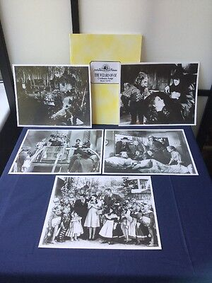 Wizard Of Oz Script & Photograph Prints Dorothy Tin Man Once Upon A Time