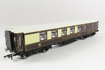 "Hornby Oo Gauge R4150 Wood Sided Pullman 3Rd Class Brake ""car No 65"""