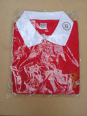 Budweiser 100% cotton T shirt, new in wrapper.
