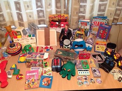 Job lot Car Boot House Clearance Mixed Vintage Collectables toys