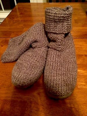 Girls Gray Boots Size 2 Sonoma