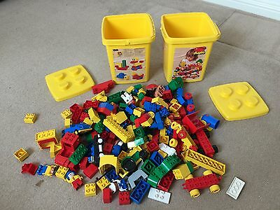 Vintage Duplo Set 1501 And 1684 With Buckets And Additional Extras