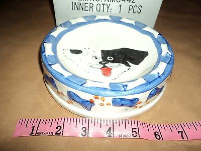 dogs. bowl. china. new in box. pet dish. animal feeder. dog lead.dog clothes