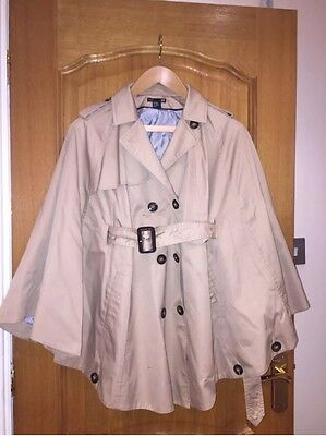 H & M Mama Over Coat Size Xs But Would Fit Size 10