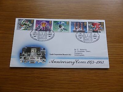 """Christmas 1984 PM """"T.C. (Tandy Corporation), Walsall - Official Tandy Cover £300"""