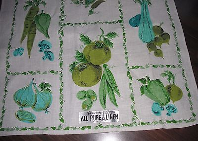 TOWEL - Made by PARISIAN PRINTS - Pure Linen - Unused