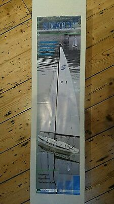 Radio controlled sailing yacht