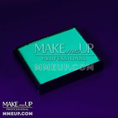 NEON TEAL Fluorescent 50g UV Face paint water color body Blacklight glowing