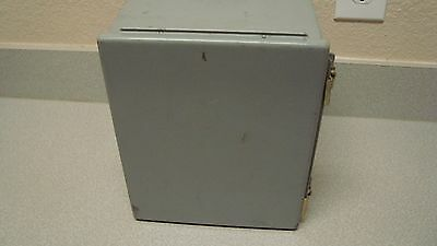 Hoffman A10086CH 10X8X6 Inch Steel Enclosure Electrical Junction Box