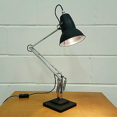 Vintage Anglepoise Desk Lamp Light by Herbert Terry & Sons Circa 1940s
