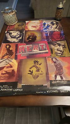 "Rent-Broadway Musical Poster-London Style ""a"""