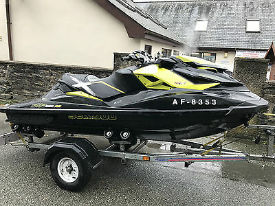 Seadoo RXP-X 260 2013 Indespension Roller Trailer and Cover only 10hrs use.