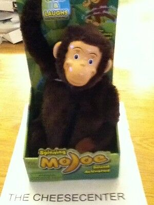 Brand New Spinning Laughing Animated Monkey Sound Activated Toy Mojoe