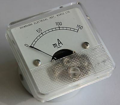 Vintage SEW Moving Coil Meter, 150mA, NOS, Boxed