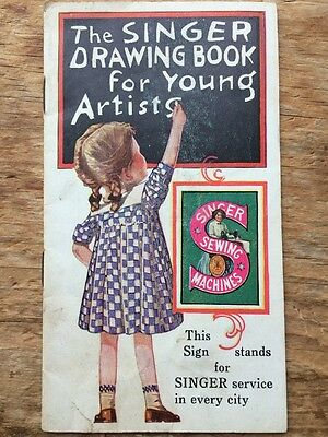 The Singer Drawing Book For Young Artists 1928