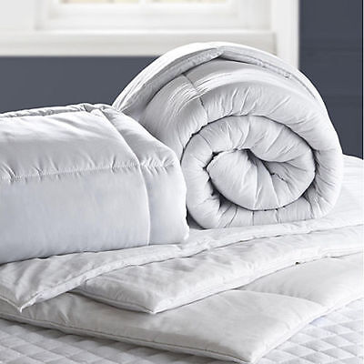 Luxury Hollowfibre Duvet Quilt - 4.5 10.5 13.5 15 Tog - All Sizes