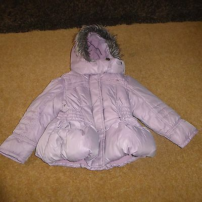 NEXT Padded Girl Winter Padded Quilted Coat Jacket age 3 - 4 yrs