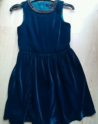 Emerald green children's dress