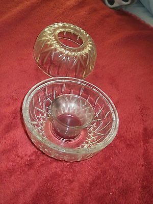 Elegant Fairy Candle Lamp ~ Crystal ~Home Interiors in box