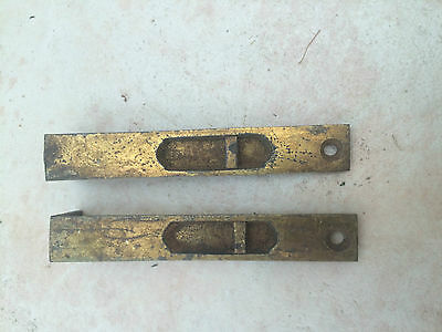 Pair of Antique Brass Bolts
