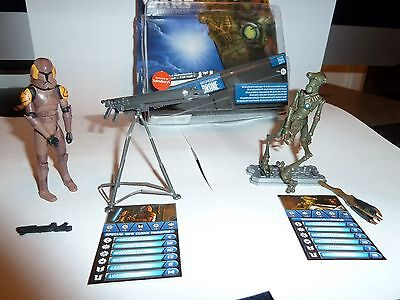 Star Wars Special ops Clone Trooper and Geonosian Drone Hasbro