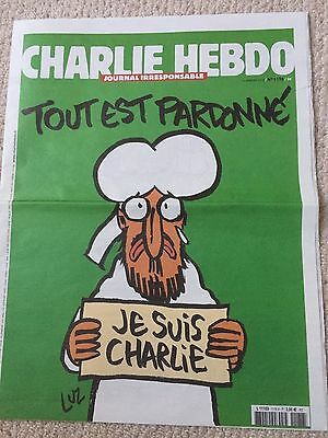 Je Suis Charlie Hebdo Magazine No 1178 Physical Newspaper French Edition