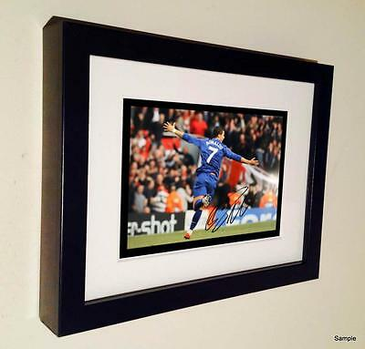 7x5 Signed Ronaldo Manchester United Autographed Photo Picture Frame 8
