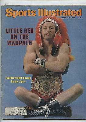 Old Feb 12, 1979 Sports Illustrated Magazine Featherweight Champ Danny Lopez