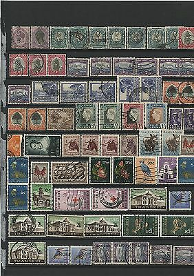 145 Old Vintage Used and Unused Postage Stamps South Africa