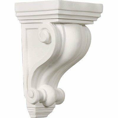 Wall Shelf Corbel Small Rack Leg Carve Support Decor Fireplace Kitchen Urethane