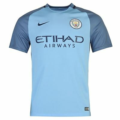Bnwt Jersey Shirt Camiseta Manchester City F.c. Nike Home 2016/2017 16/17