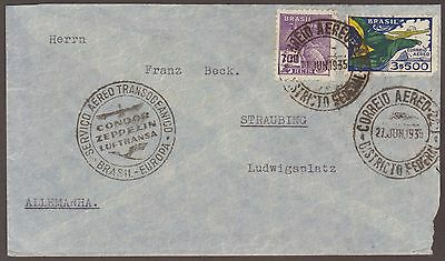 Brazil 1935 Cover To Germany 2