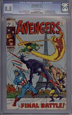 Avengers #71 - CGC Graded 8.5 - 1st Silver Age Invaders