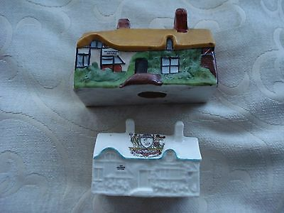 Crested China-Ann Hathaways Cottages-Arcadian-Unmarked-