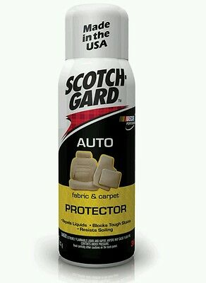 Scotchgard Auto Fabric Protector 292ML Repels Oil And Water Repellent 3M